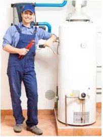 plumber and water heater