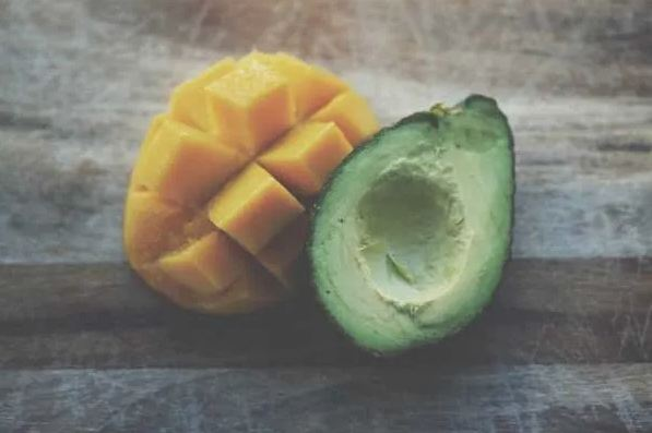 avocado and mango